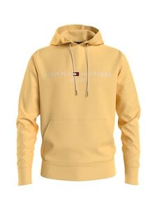 Tommy Hilfiger - Tommy Logo Hoody -huppari - ZFF DELICATE YELLOW | Stockmann