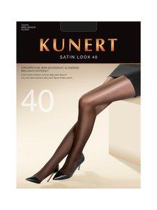 Kunert - Glossy Satin Look 40 den -sukkahousut - BLACK | Stockmann