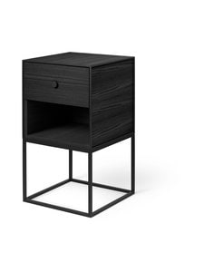 By Lassen - Frame Sideboard 35 -sivupöytä - BLACK STAINED ASH | Stockmann