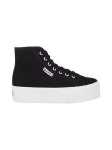 Superga - 2705 Hi Top -sneakerit - F83 BLACK-FWHITE | Stockmann