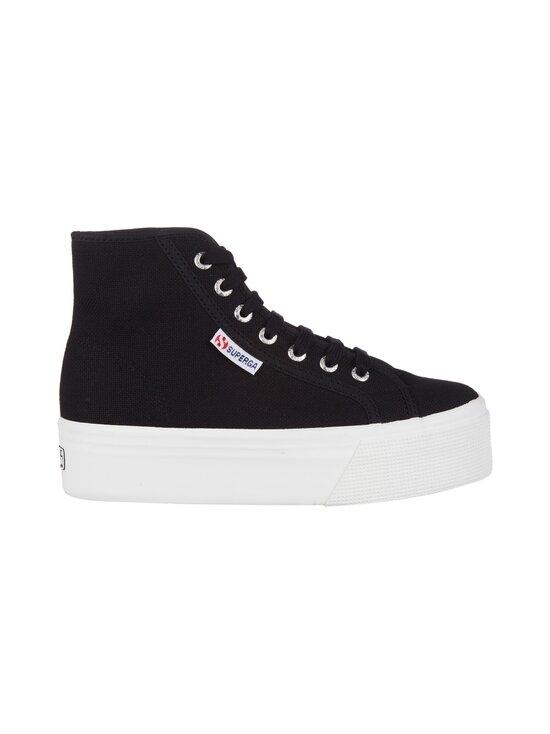 Superga - 2705 Hi Top -sneakerit - F83 BLACK-FWHITE   Stockmann - photo 1