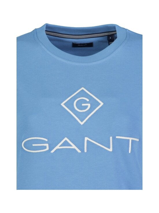 GANT - Lock Up C-neck Sweat -collegepaita - 469 SILVER LAKE BLUE | Stockmann - photo 2