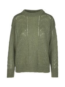 R-Collection - Luna Mohair Jumper -neule - 556 GREEN | Stockmann