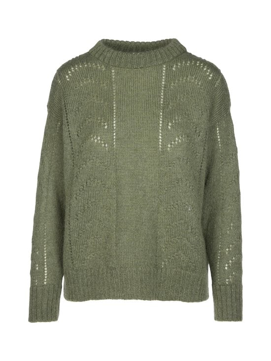 R-Collection - Luna Mohair Jumper -neule - 556 GREEN | Stockmann - photo 1