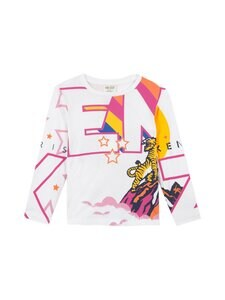 KENZO KIDS - Kristin-paita - 01 OPTIC WHITE | Stockmann