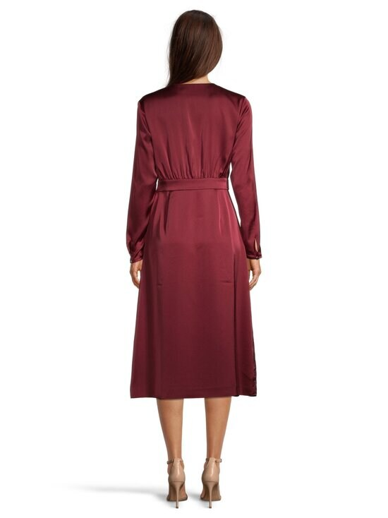 Ted Baker London - Neenha Side Wrap Dress with Pleat Detail -mekko - 45 RED | Stockmann - photo 3