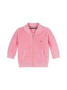 Tommy Hilfiger - Baby Velour Zip-Up Sweatshirt -svetaritakki - TIB ROSEY PINK | Stockmann