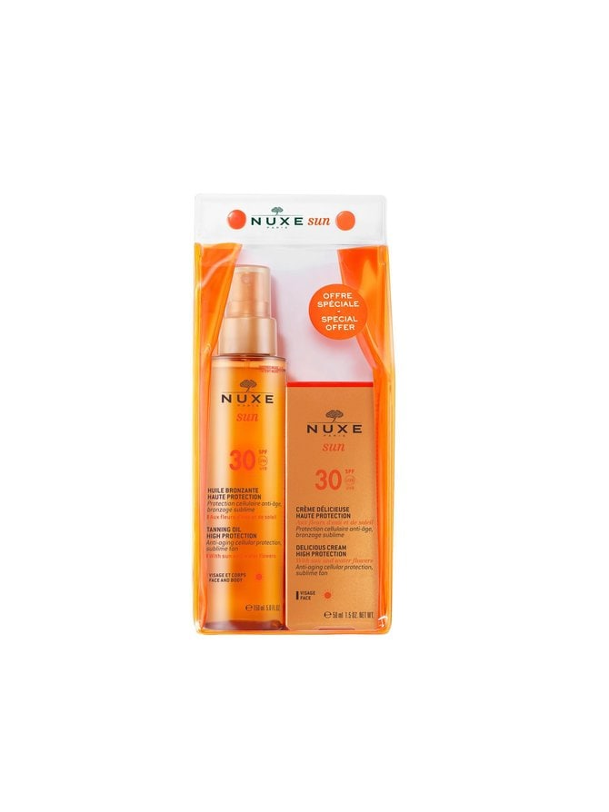 Sun Care Set SPF30 -aurinkosuojapakkaus