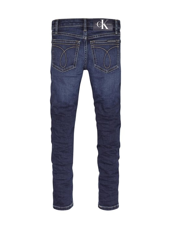 Calvin Klein Kids - Super Skinny -farkut - 1BK ESSENTIAL DARK BLUE STRETCH | Stockmann - photo 2