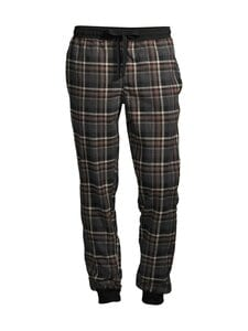 CONSTRUE - Nantucket-pyjamahousut - GREY/ BROWN CHECK | Stockmann