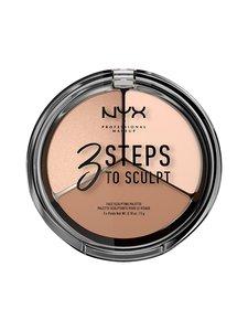 NYX Professional Makeup - 3 Steps to Sculpt -korostuspaletti | Stockmann