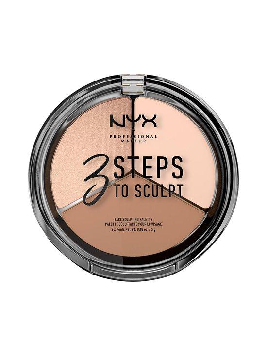 NYX Professional Makeup - 3 Steps to Sculpt -korostuspaletti - FAIR | Stockmann - photo 1