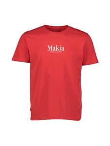 Makia - Strait T-Shirt -paita - 457 RED | Stockmann