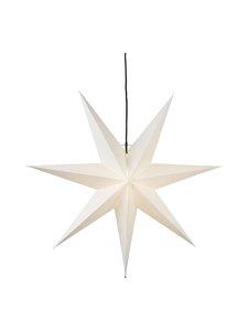Star - Hanging Paper Star Frozen -koristevalo 70 x 70 x 16 cm - WHITE (VALKOINEN) | Stockmann