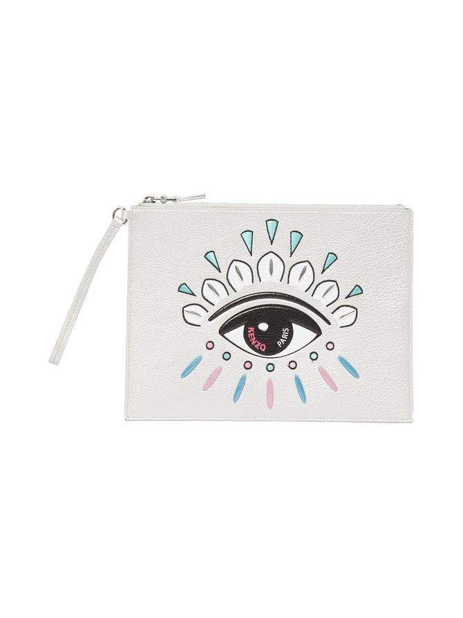 A4 Kontact Eye Clutch -nahkalaukku