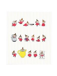 Moomin - Lilla My -tiskirätti 18 x 20 cm - VALKOINEN | Stockmann