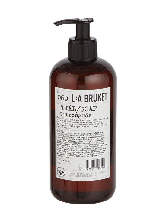 L:A Bruket - No 69 Lemongrass -nestesaippua 450 ml - null | Stockmann - photo 1