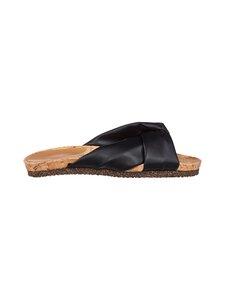 Flattered - Lou Vegan Slide -sandaalit - 001 BLACK VEGAN | Stockmann