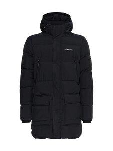Calvin Klein Menswear - CRINKLE NYLON LONG LENGTH -toppatakki - BEH CK BLACK | Stockmann