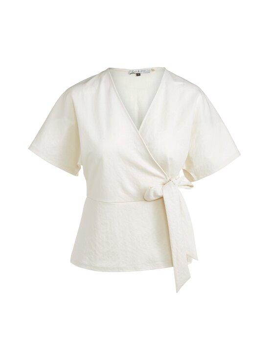 cut & pret - Tessa Wrap Jersey Top cut -paita - OFFWHITE | Stockmann - photo 1