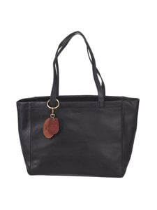 Marc O'Polo - Della Leather Shopper -nahkalaukku - 990 BLACK | Stockmann