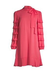 RED Valentino - Ls Frill -mekko - 38Y RED | Stockmann