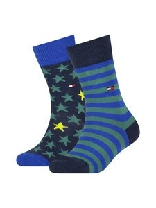 Tommy Hilfiger - Stars and Stripes 2-pack  -sukat - 008 BLUE COMBO   Stockmann