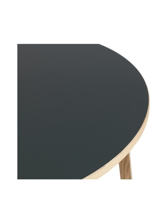 Normann Copenhagen - Slice Table Linoleum -pöytä ⌀ 95 cm - OAK/BLACK | Stockmann - photo 2