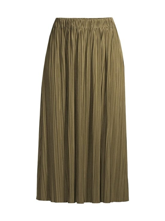 Samsoe & Samsoe - Uma Skirt -hame - GREEN AIR KHAKI | Stockmann - photo 1