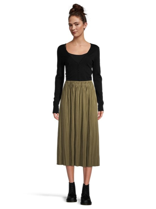 Samsoe & Samsoe - Uma Skirt -hame - GREEN AIR KHAKI | Stockmann - photo 2