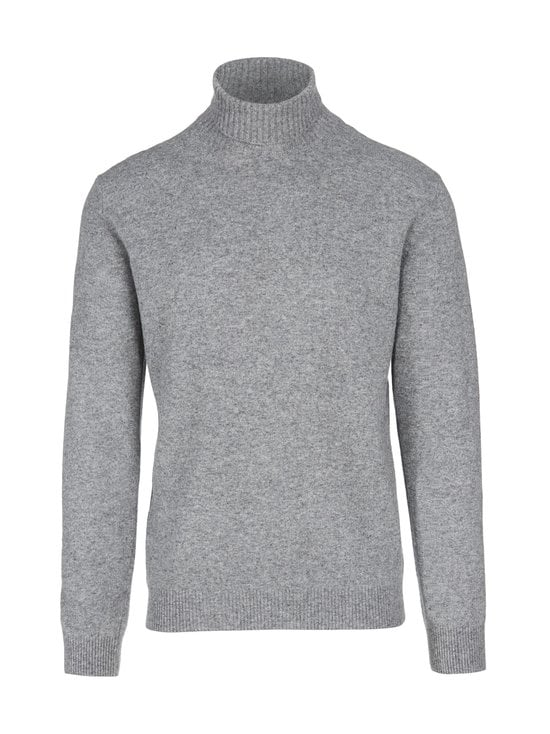 Oscar Jacobson - Salim-neule - 150 LIGHT GREY | Stockmann - photo 1