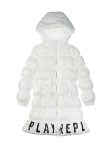 Replay & Sons - Long Jacket -talvitakki - 011 OFF WHITE | Stockmann