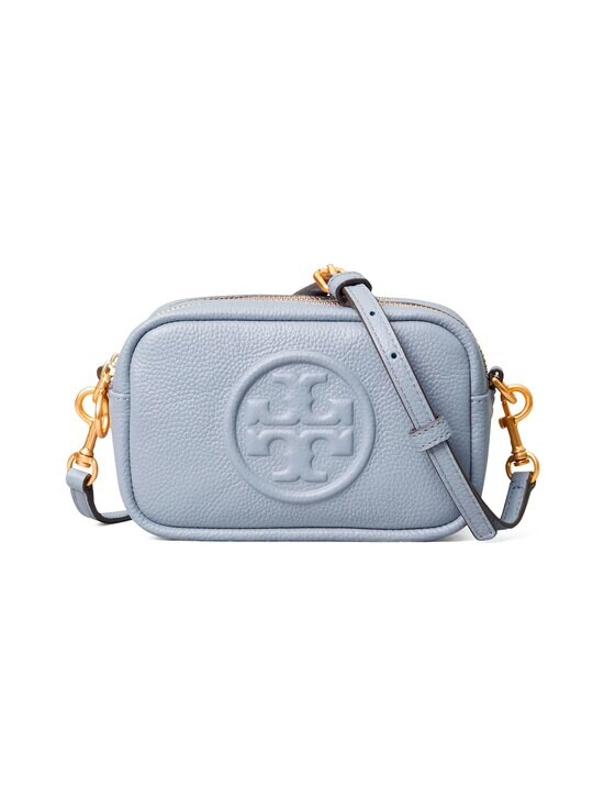 Tory Burch - Perry Bombé Mini Bag -nahkalaukku - 023 CLOUD BLUE | Stockmann - photo 1