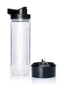 Wilfa - 2GO-pullo ja -terä - MUSTA | Stockmann