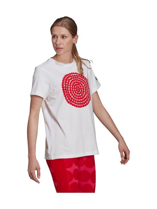 adidas x Marimekko - GFX 3-paita - WHITE | Stockmann - photo 5