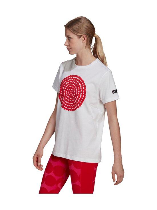adidas x Marimekko - GFX 3-paita - WHITE | Stockmann - photo 6