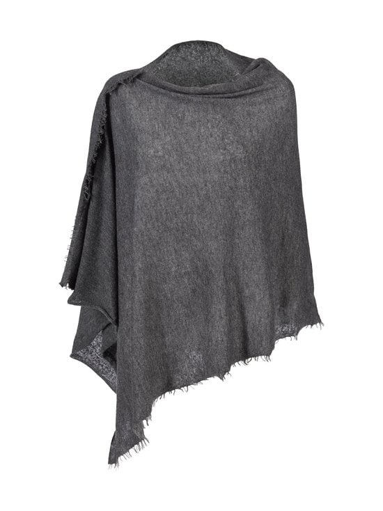 Balmuir - Helsinki-kashmirponcho - DARK GREY MELANGE (HARMAA) | Stockmann - photo 1