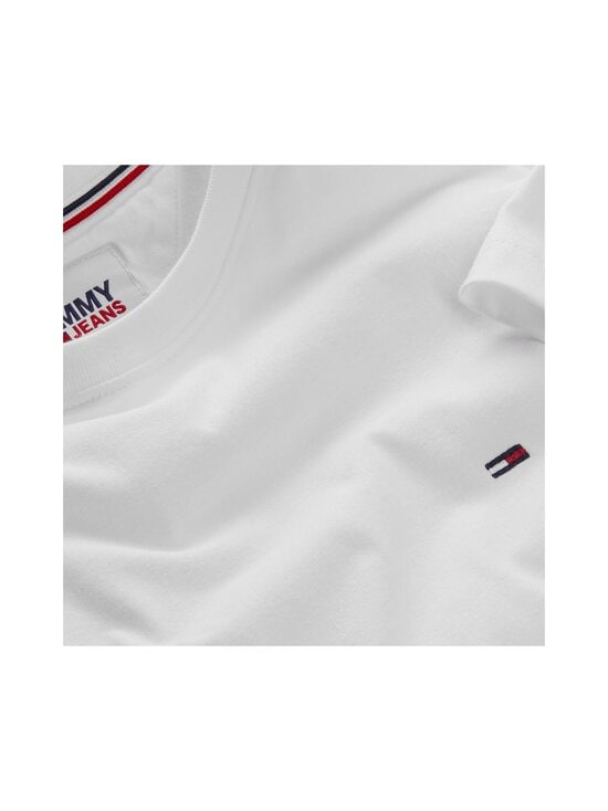 Tommy Jeans - Tjm Original Jersey Tee -paita - 100 CLASSIC WHITE | Stockmann - photo 3