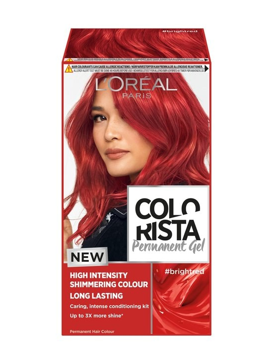 L'Oréal Paris - Colorista Permanent Gel -hiusväri - #BRIGHTRED | Stockmann - photo 1