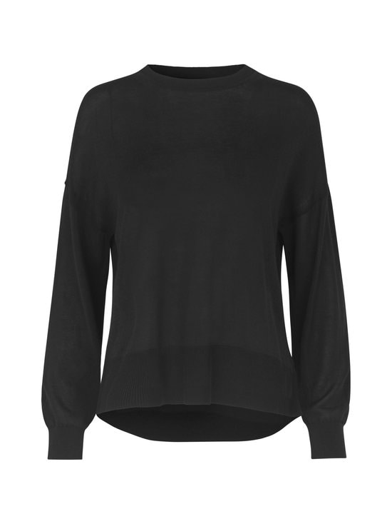 Samsoe & Samsoe - Dida Crewneck -neule - BLACK | Stockmann - photo 1
