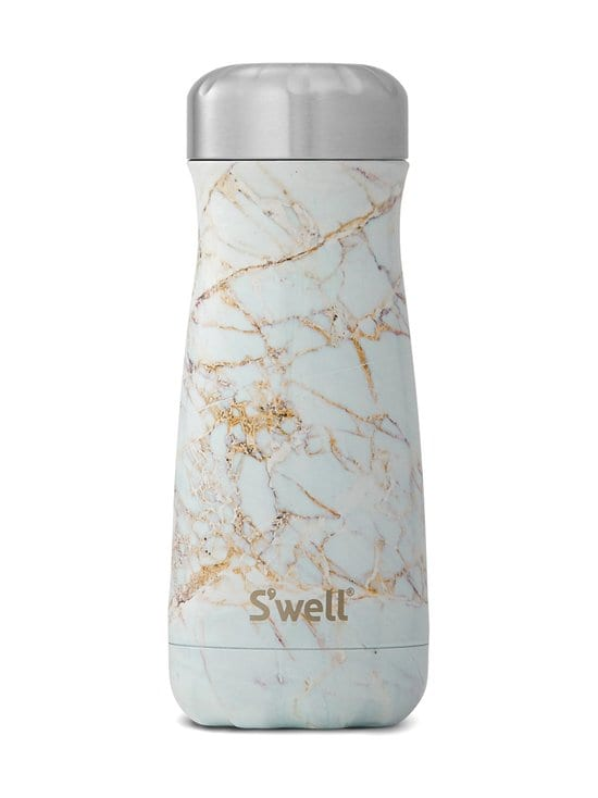 S'well - Calacatta Gold Traveler -juomapullo 470 ml - MULTICOLOUR | Stockmann - photo 1