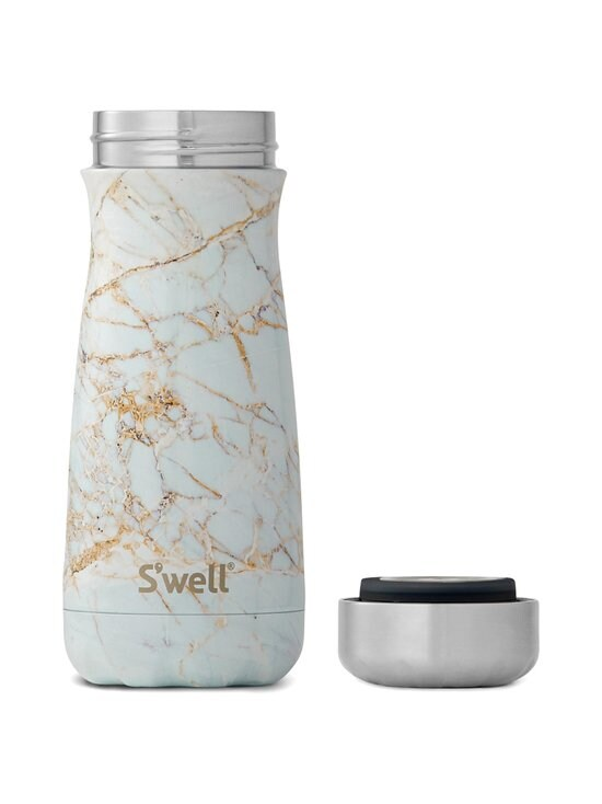 S'well - Calacatta Gold Traveler -juomapullo 470 ml - MULTICOLOUR | Stockmann - photo 2