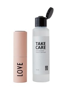 Design Letters - Take Care -käsidesi 100 ml ja täyttöpullo - NUDE | Stockmann
