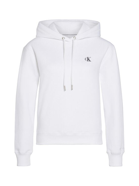 Calvin Klein Jeans - CK Embroidery -huppari - YAF BRIGHT WHITE | Stockmann - photo 1