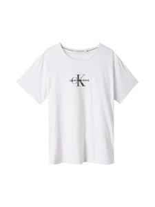 Calvin Klein Jeans Plus - Plus Glitter Monogram Tee -paita - YAF BRIGHT WHITE   Stockmann