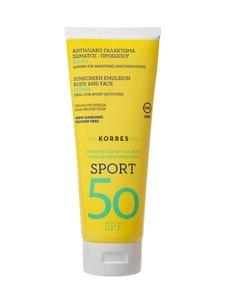 Korres - Citrus Activate Sports Face Body Emulsion SPF 50 -aurinkosuojavoide 200 ml | Stockmann