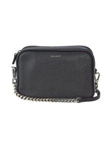 Balmuir - Eloise Camera Bag -nahkalaukku - BLACK DARK (MUSTA) | Stockmann
