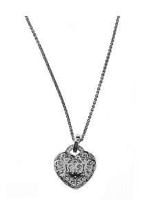 Dfj Collections - Heart Crystal -kaulakoru - SILVER | Stockmann