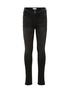 KIDS ONLY - KonBlush Skinny Raw -farkut - BLACK DENIM | Stockmann