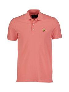 Lyle & Scott - Plain Polo Shirt -pikeepaita - W429 PUNCH PINK | Stockmann